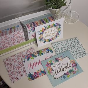 Set of 49 Thank you cards